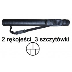 Futerał Cobra Crocodille Black  2/3